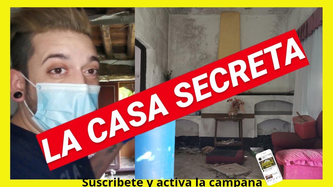 La CASA SECRETA. CASAS ABANDONADAS en España - Urbex 2020