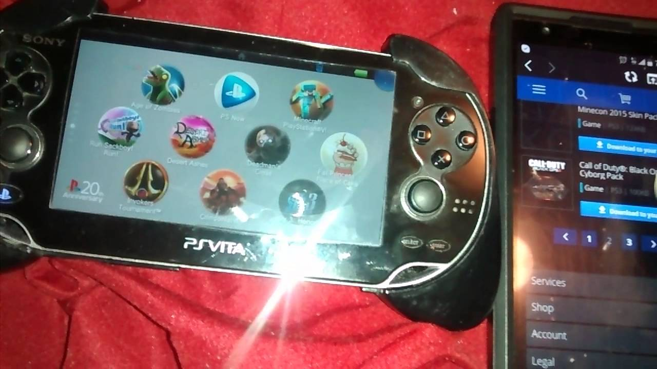 sony ps vita free games download