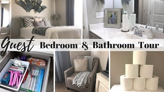 Guest Bedroom Tour | Bathroom Tour | Guest Must Haves
