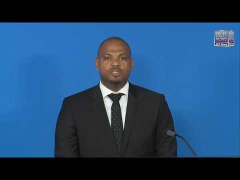 Minister Jason Hayward Press Conference, Aug 20 2020