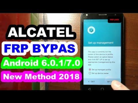 Alcatel FRP bypass 6 0 1/7 0 new method 2018