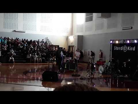 Assembly at Summer Creek Middle School