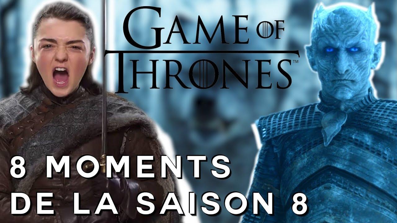 game of thrones nos 8 moments attendus de la saison 8 youtube. Black Bedroom Furniture Sets. Home Design Ideas