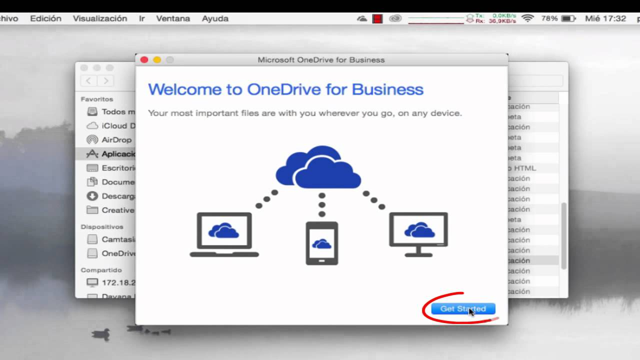 #Office365: OneDrive para Mac