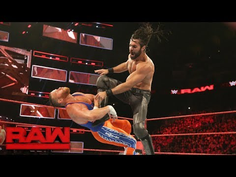 Seth Rollins vs. Curt Hawkins: Raw, July 3, 2017