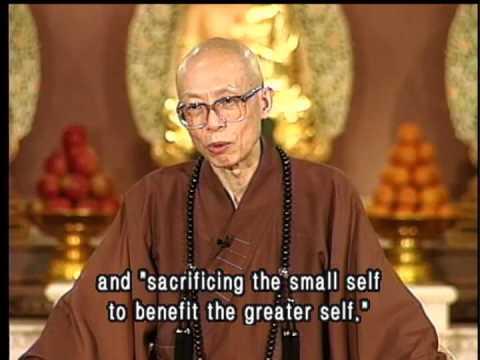 Selfishness Vs Self-interest(GDD-471, Master Sheng Yen)