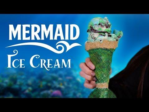 DIY MERMAID ICE CREAM & CONE