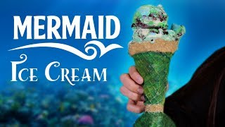 DIY MERMAID ICE CREAM & CONE