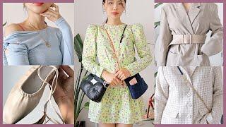 (ENG) SPRING fashion haul🥑 봄을 위해 구입한 패션제품 my best haul YET