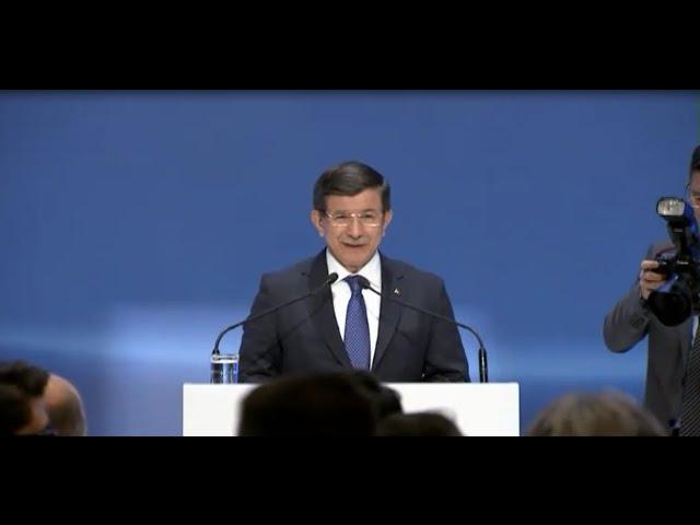 2 Eylül Yüksek İstişare Konseyi kokteyli Başbakan Ahmet Davutoğlu konuşması #TÜSİADYİK2015