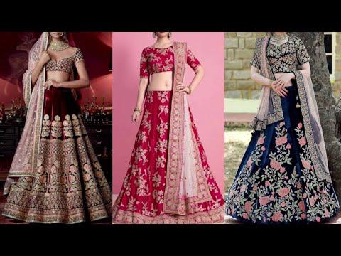 Velvet Lehenga Choli Design || Wedding Special Velvet Lehenga Choli Collection