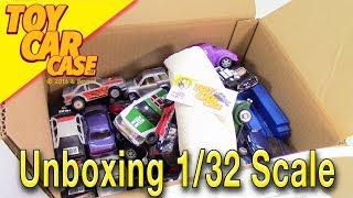 Unboxing HUGE BOX 1/32 Scale Die Cast Cars Toy Car Case