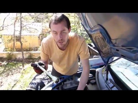 how to change oil peugeot 206