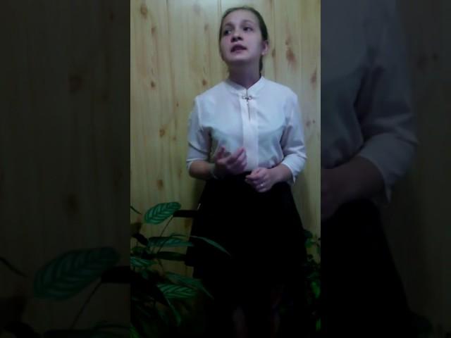 Изображение предпросмотра прочтения – ИльмираБикеева читает отрывок изпроизведения «Смерть поэта (Погиб поэт! Невольник чести…)» М.Ю.Лермонтова