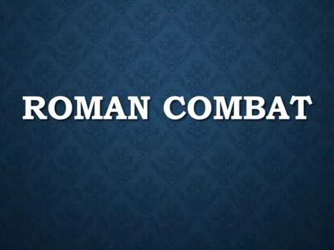 """Righteous Killers! Roman Combat Innovations """"All Gods Lead to Rome"""""""