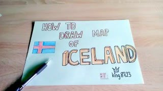 How to draw map of Iceland
