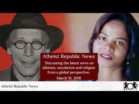 Atheist Republic News Mar 10, 2018 - Lawrence Krauss, Egyptian atheist