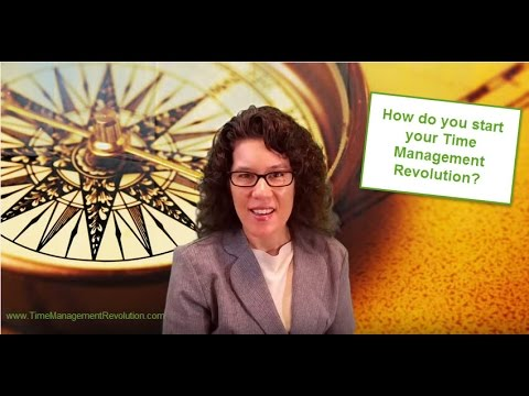 Productivity Tip - How do you get started with your time management revolution? (2) Mp3