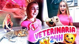 24 HORAS siendo VETERINARIA DE ANIMALES SALVAJES y EXÓTICOS - Silvia Sánchez