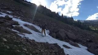 Skiing Berthoud Pass in July