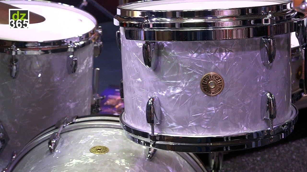 gretsch 60 39 s marine pearl drum demo usa custom youtube. Black Bedroom Furniture Sets. Home Design Ideas
