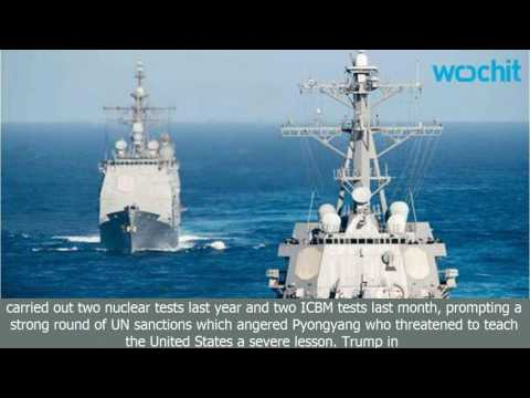 Us destroyer sails in south china sea