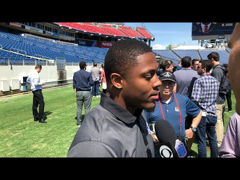 Interview With Josh Jacobs, Alabama RB, At 2019 NFL Draft