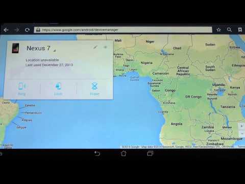 Don't Lose Your Phone Again! Google Android Device Manager Works!