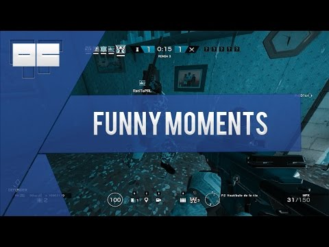 Karaoke time! - Rainbow six siege Funny moments