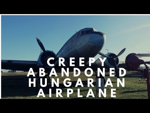 Creepy Abandoned Hungarian Airplanes