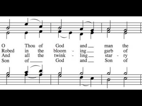 Fairest Lord Jesus - All Parts - Learn How to Sing Hymns