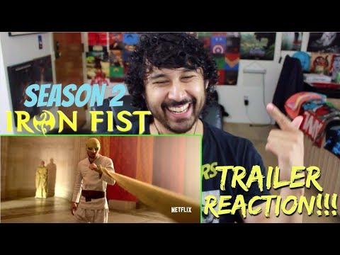 Marvels IRON FIST: SEASON 2 | Official TRAILER - REACTION!!!