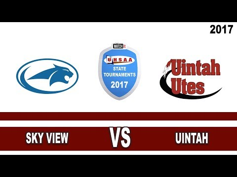 4A Volleyball: Sky View vs Uintah High School UHSAA 2017 State Tournament Round 1