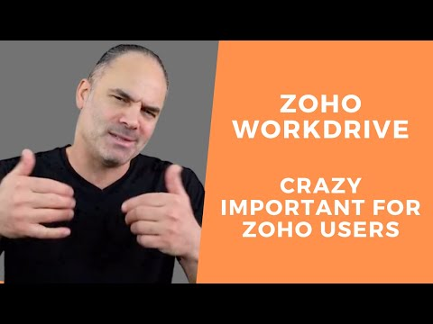Boost Productivity With Zoho Workdrive