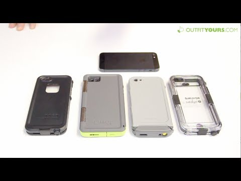 timeless design 2bd57 bfa6e Top 4 Best Waterproof iPhone 5 & iPhone 5S Cases - Lifeproof, Otterbox,  Incipio, Griffin