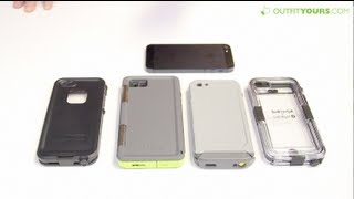 Top 4 Best Waterproof iPhone 5 & iPhone 5S Cases - Lifeproof, Otterbox, Incipio, Griffin
