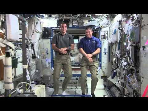 NASA's Space Station Crew Discusses Life in Space with Homestate Media