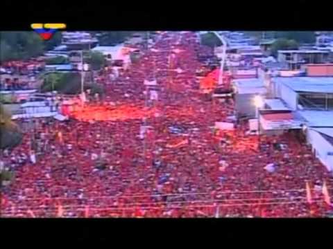 Nuevo Himno Nacional De Venezolana De Televisión Con El Comandante Hugo Chávez