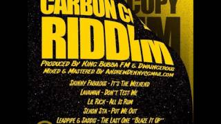LAVAMAN DONT TEST WE CARBON COPY RIDDIM