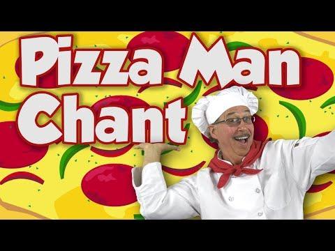 Pizza Man | Movement Song for Kids | Jack Hartmann
