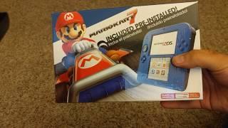 Nintendo 2DS Unboxing - Mario Kart 7 Bundle