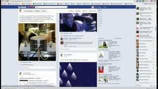 How To Post PIctures and Links To Facebook Timeline - Social Media Marketing