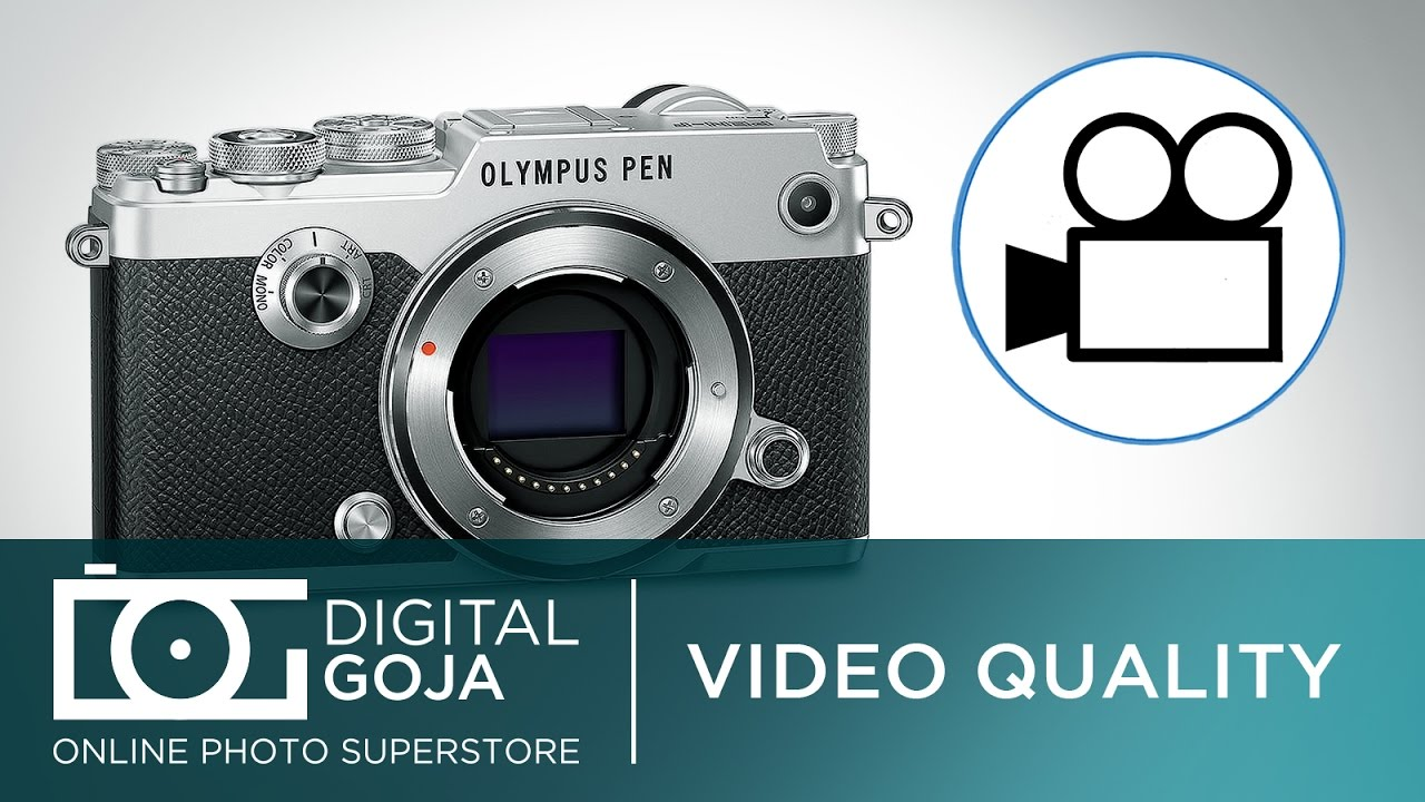 Olympus Pen-F: How Good Is The Video Quality?   FAQ