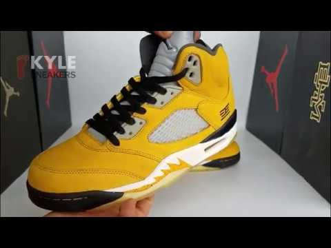 a9e125124646e7 Unboxing and review for Kyle s Sneakers Air Jordan 5 Retro t23 Tokyo ...