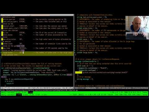 Watch me Work #29   Precise Go memory tracking with task groups