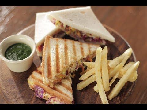 Veg Mayo Sandwich | Sanjeev Kapoor Khazana
