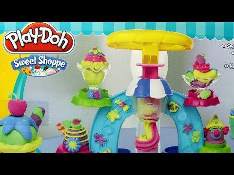 Play-Doh - Swirl and Scoop Ice Cream Playset / Magiczna Lodziarnia - Creative Toys