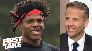 Cam Newton will be an MVP candidate for the 'sneaky good' Panthers - Max Kellerman | First Take