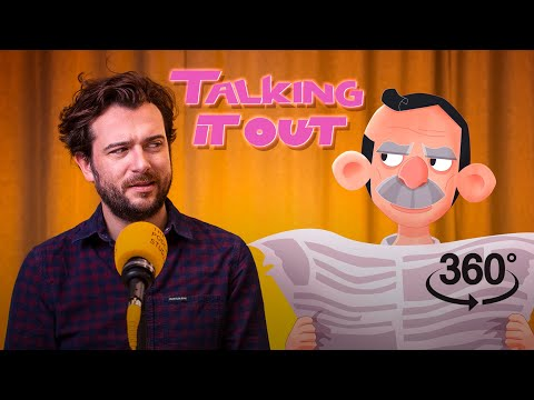 Seanie Tries Vaping? | Kevin McGahern Behind-the-scenes 360 | Talking It Out