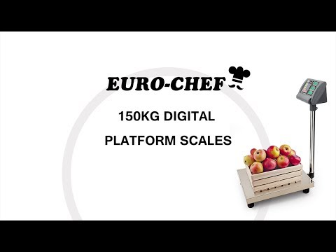 Electronic Digital Platform Scale Shop Market Postal Scales Weight 150kg